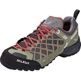 Salewa Wildfire S GTX Sko Damer grå/grøn